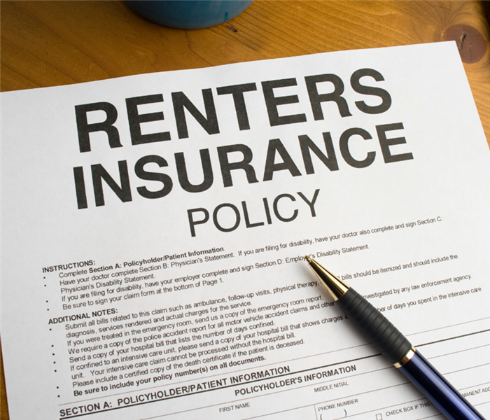Image is of a close up of a renter
